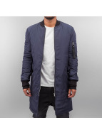 Sixth June Übergangsjacke Bomber Long blau