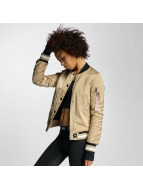 Sixth June Veste bomber Paris 75 beige