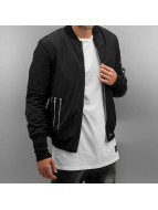 Sixth June Veste bomber Biker Jokes noir
