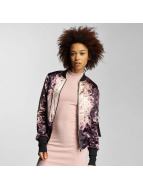 Sixth June Veste bomber Flower rose
