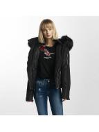 Sixth June Winter Fur Jacket Black