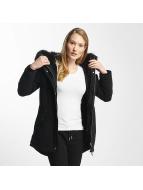 Sixth June Oversize With Fake Fur Hood Classic Parka Black/Black
