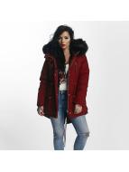 Sixth June Winter Jacket Ultra Oversize red