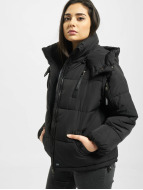 Sixth June Classic Oversize Puffa Jacket Black