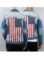 Sixth June Zomerjas USA blauw