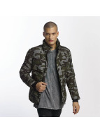Sixth June Classic Fit Down Jacket Camouflage