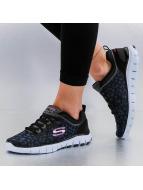 Skechers sneaker Power Player Sketch Flex zwart
