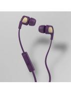 Skullcandy Headphone Smokin Buds II Mic 1 purple