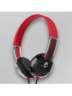 Skullcandy Koptelefoon Uproar Taptech rood