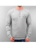 Sky Rebel Пуловер Big серый