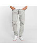 Sky Rebel Jeans Straight Fit Elay gris