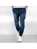 Sky Rebel Joggingbukser Jeans Style blå