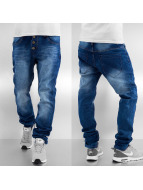 Sky Rebel Straight Fit Jeans Elay blau