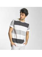 Sky Rebel T-Shirt Stripes blanc