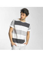 Sky Rebel T-Shirt Stripes weiß