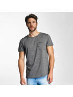 Sky Rebel Nevio T-Shirt Dark Grey Melange