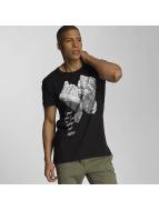 Sky Rebel T-Shirty Davy czarny