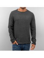 Solid Пуловер Jarah серый