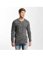 Solid Пуловер Jamail серый