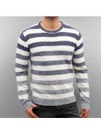 Solid Пуловер Harvee синий