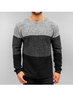 Solid Пуловер Danny черный