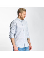 Solid Рубашка Shirt Haddon синий