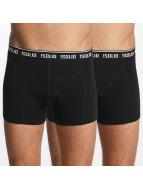 Solid Bokserit Gavi Boxershorts 2-Pack musta