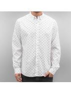 Solid Hemd Shirt weiß