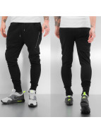 Solid joggingbroek Tam zwart