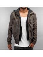 Solid Manteau hiver Dallas brun