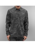 Solid overhemd Castlero grijs