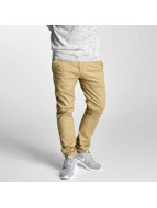 Solid Pantalon chino Joe Crisp beige