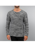 Solid Pullover Knit Duff black