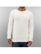 Solid Pullover Jarah blanc