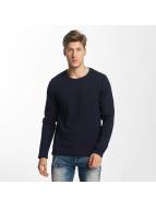 Solid Pullover Jagu blau