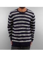 Solid Pullover Knit Duncan bleu