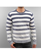 Solid Pullover Harvee bleu