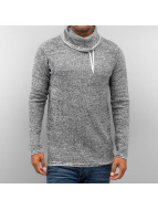 Solid Pullover Regis Kni grau