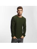 Solid Pullover Jarah Knit green