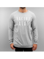 Solid Pullover Sweat Darion gris