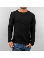 Solid Pullover Jarah noir
