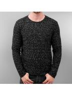 Solid Pullover Springer schwarz