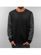 Solid Pullover Sai schwarz