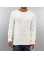 Solid Pullover Jarah weiß