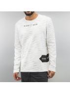 Solid Pullover Brice weiß