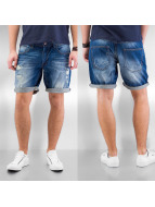 Solid shorts Roy blauw