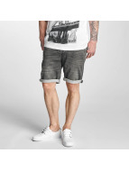 Solid Shorts Denim grau