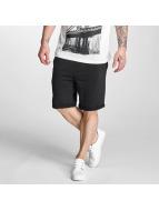 Solid shorts Gibby zwart