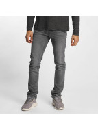 Solid Slim Fit Jeans Joy серый