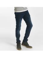 Solid Slim Fit Jeans Joy Strech blau